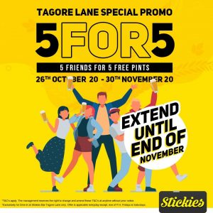 Tagore Lane 5for5