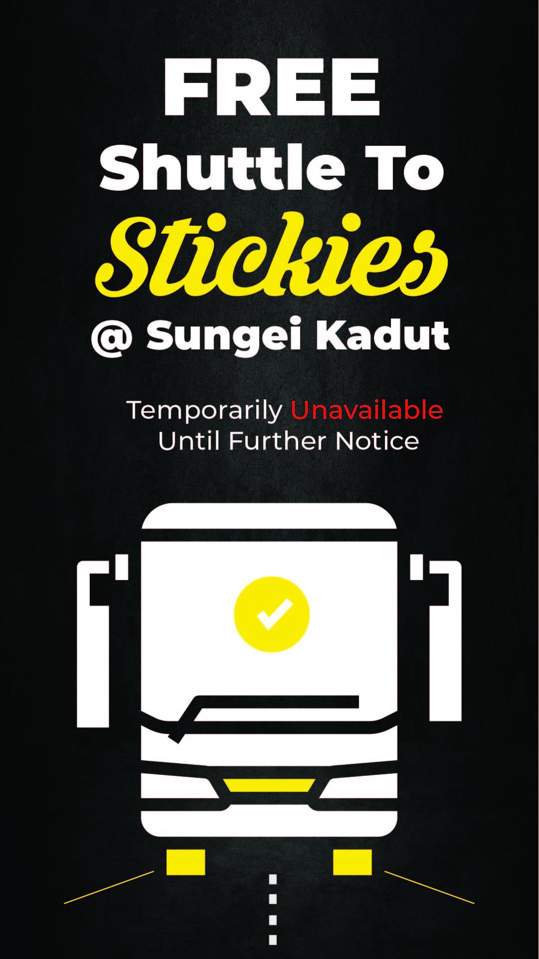 Stickies Sungei Kadut Free Shuttle